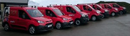ACR Plumbing and Heating Van Fleet