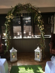 Wedding Arches by Flower Design, Ripon. Yorkshire
