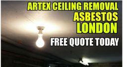 asbestos artex removal london