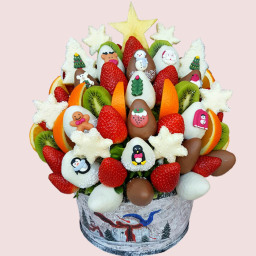 Christmas Star Gift Bouquet