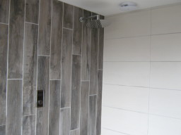 Morecambe, Shower contol unit and light