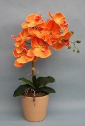Artificial Orange Flowers