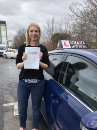 Passed 1st time in Mitcham test centre.