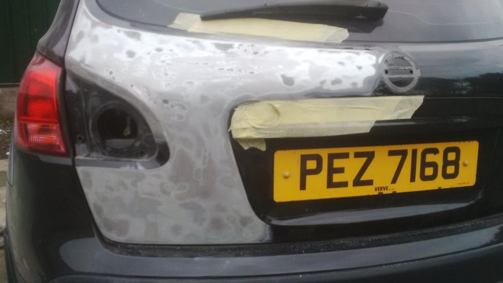 Fibre Glass Car Respray