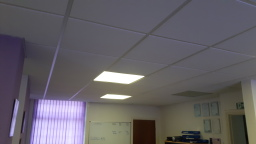SureCare, Chorley - Old Fluorescent Panel lighting