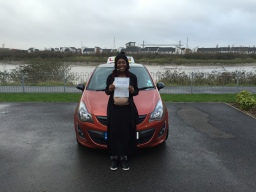 I passed first time on my intensive driving course