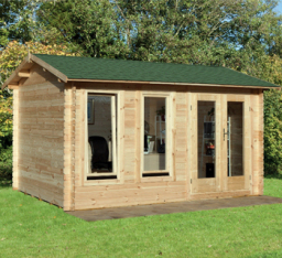 Chiltern log cabin