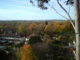 Looking over Oxford