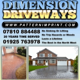 Dimension Driveways Flyer
