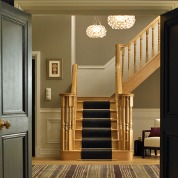 Heritage oak staircase