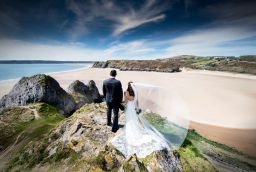 wedding photographer based in Swansea, South Wales
