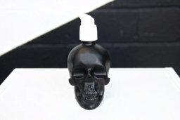 skull bottle organic skin care