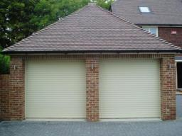 Priory double shutters in ivory