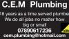 C.E.M Plumbing & Heating