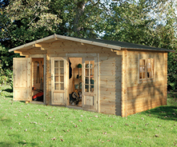 Wrekin log cabin