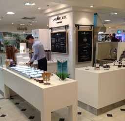 Snowflake Luxury Gelato in Selfridges