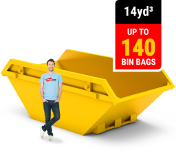 14 CUBIC YARD MINI SKIP