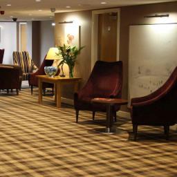 Hugh Mackay Tartan 4M Tartan Earth carpet roomshot