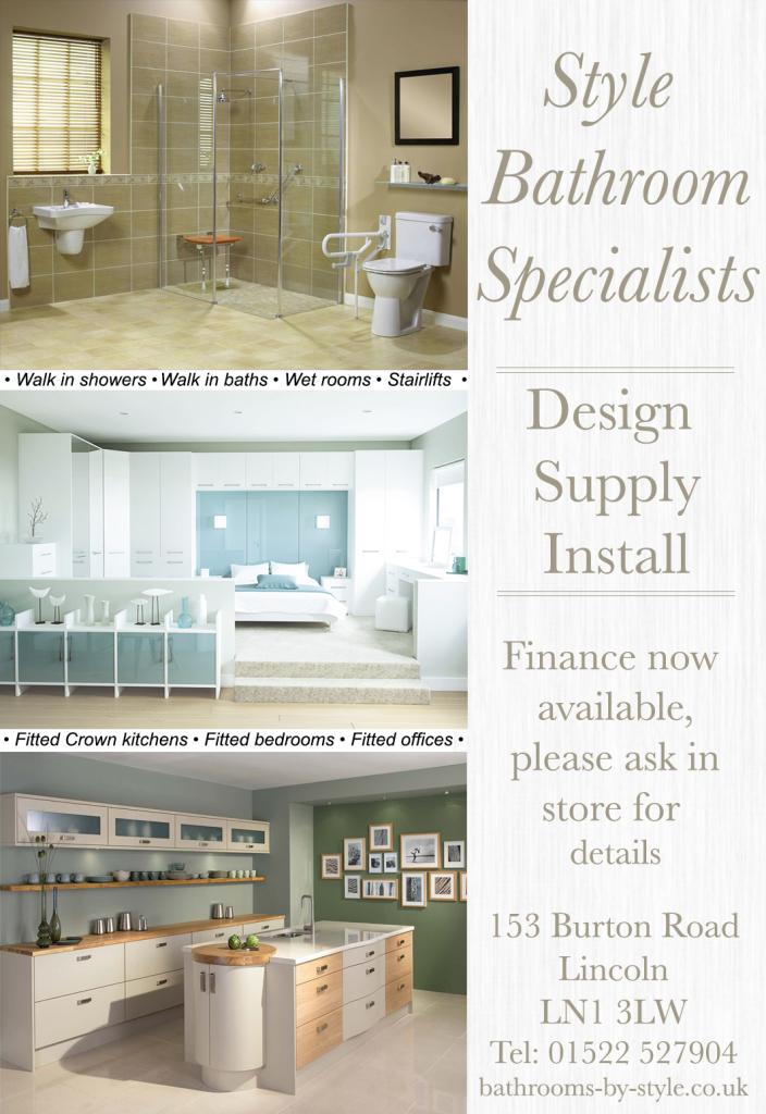 Style bathroom specialists in 153 burton road lincoln for Bathroom specialists