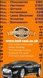 Airport Transfer Hull