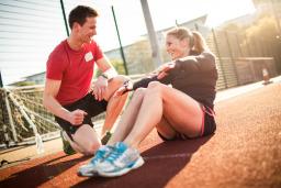 Personal training in Battersea millennium arena
