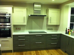Framed Kitchen Installation . Hoddesdon