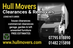 Hull Movers / Clearances Business Card