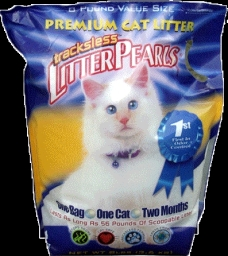 Litter Pearls Silica Gel Tracks-less Cat Litter