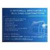 D. Mitchell Brickwork & Building Contractors