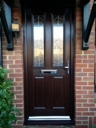 Rosewood Composite Door