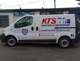 KTS Painting and Decorating Van