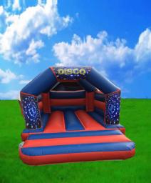 Disco Bouncy Castle Hire Peterborough