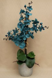 Artificial Blue Orchid