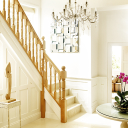 Heritage white oak stairs