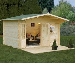 Buxton log cabin