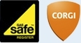 Installation Carried Out By Gas Safe Registered Engineers