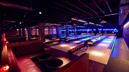 bowling and space to kick back...