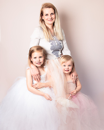 mummy and girls portrait
