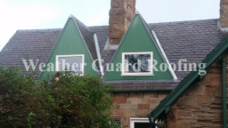Dormer roof completion