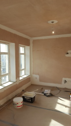 New build interior painting