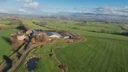 aerial photography lancashire