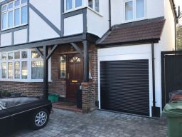 Compact Roller Garage Door Installed In Essex