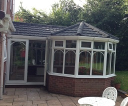 Lightweight Tiles Conservatory Roof Replacement.