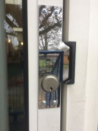 After Lock Shield Fitted