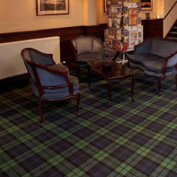 Hugh Mackay Tartan 4M Tartan Black Watch carpet ro