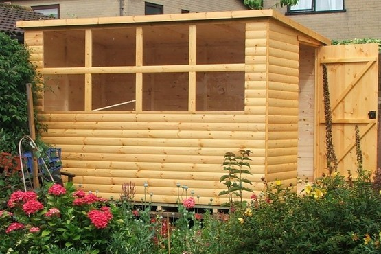 Landscape Ties Chilliwack : Shed in westerleigh park nurseries hill