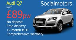 Audi Q7 on finance