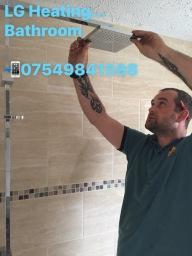 Bathroom installation at south normanton