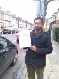 Pass It First Time Suroj of East Ham