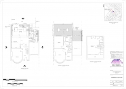 Proposed Floor Plans for a Planning Application